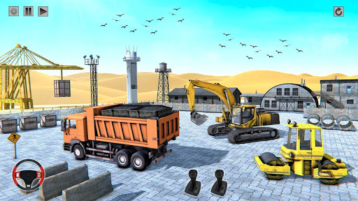 Heavy Construction Mega Road Builder apktram screenshots 6