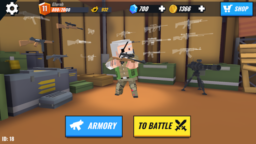 Battle Gun 3D - Pixel Block Fight Online PVP FPS apkpoly screenshots 7