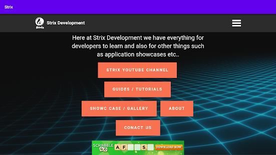 Strix Development 2.0 Screenshots 1