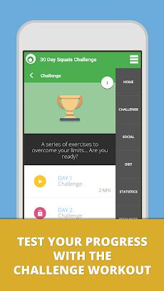 Squat Challenge 30 Day Workoutのおすすめ画像4