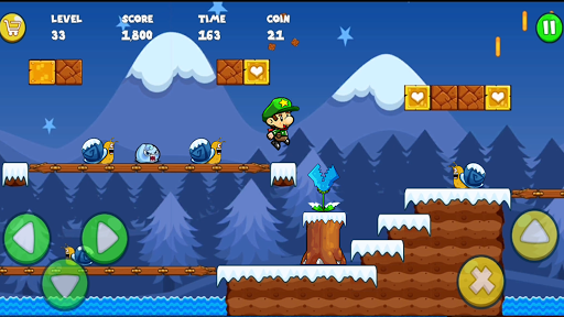 Super Bob's World : Free Run Game  screenshots 21