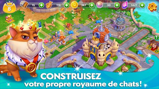 Télécharger Cats & Magic: Dream Kingdom mod apk screenshots 1
