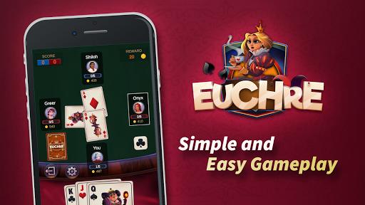 Euchre - Free Offline Card Games 1.1.9.6 screenshots 6