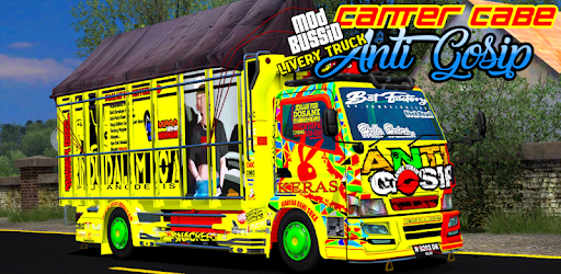 Mod Bussid Livery Truck Canter Anti Gosip Apps On Google Play