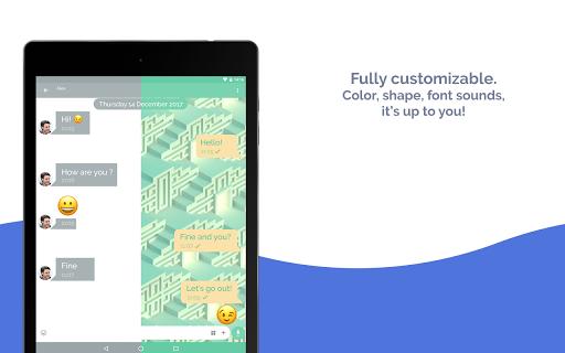 Mood Messenger - SMS & MMS android2mod screenshots 13