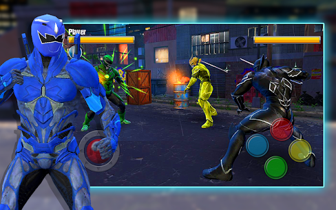 Dino Hero Ninja Fighters Battle Shadow Steel Game Hack Android and iOS 5