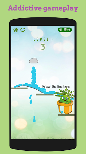 flower rescue: great physics-based puzzle game screenshot 3