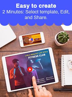 Marketing Video Maker, Slideshow Creator, Ad Maker
