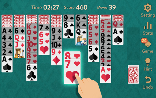 Spider Solitaire: Kingdom  screenshots 7