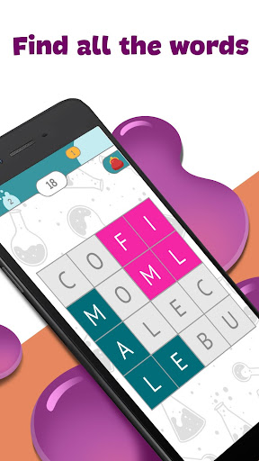 Fill-The-Words - word search puzzle 4.0.4 screenshots 1