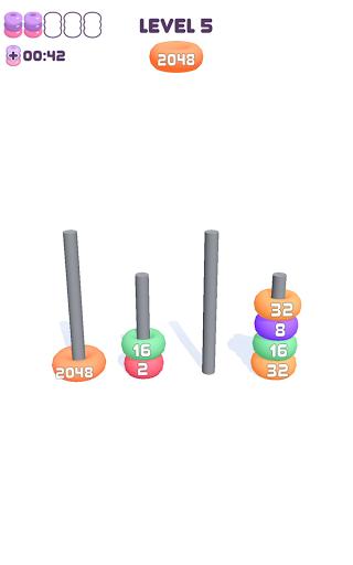 2048 Hoops 1.2.2 screenshots 12