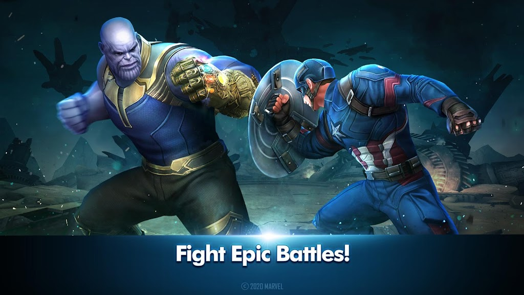 MARVEL Future Fight poster 1