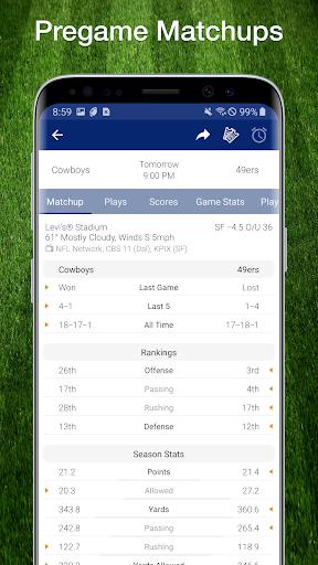 49ers Football: Live Scores, Stats, Plays, & Games 9.1.2 screenshots 7