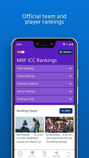 ICC - Live International Cricket Scores & News  screenshots 5