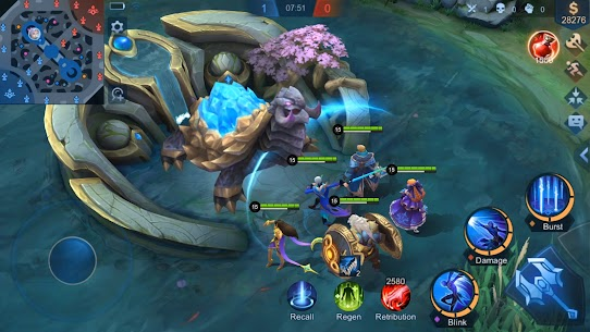 Mobile Legends: Bang Bang Mod Apk (Drone View) free on Android 8
