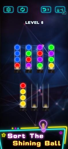 Light Sort Puzzle 1.4.1 screenshots 2