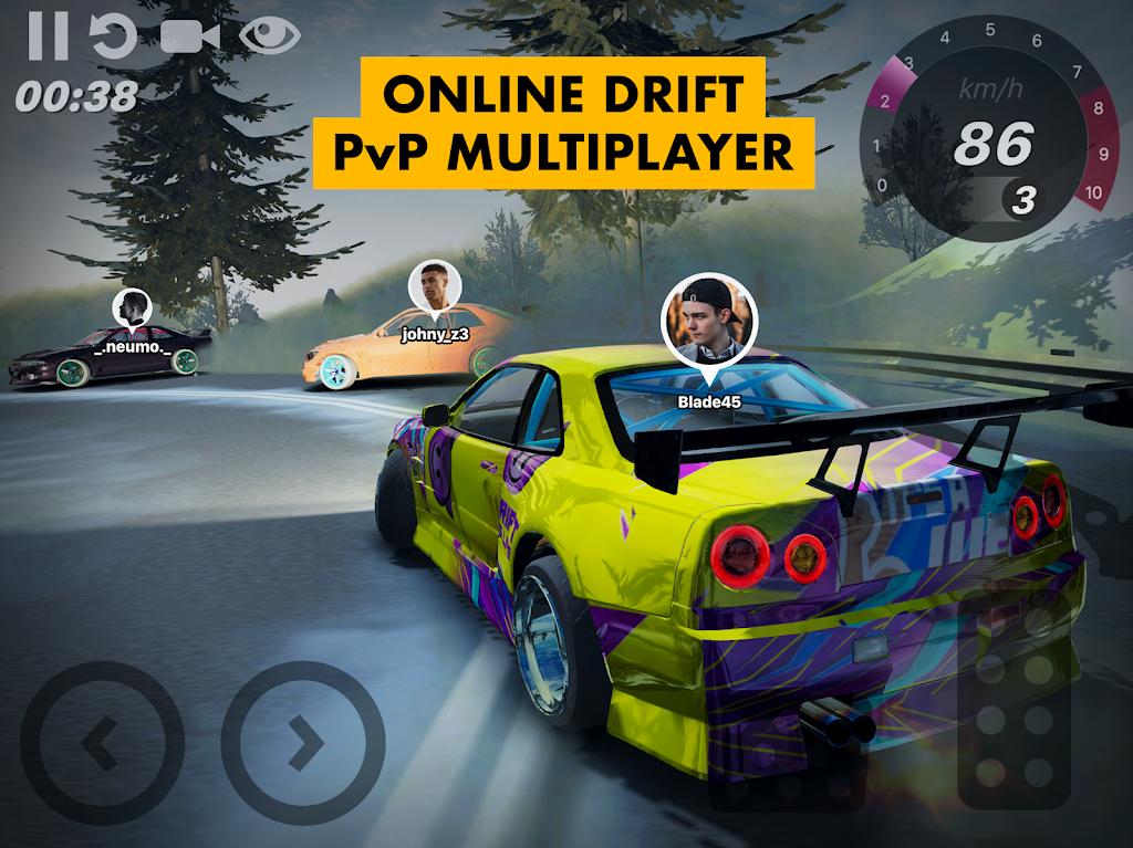 Hashiriya Drifter Online Drift Racing Multiplayer MOD poster 10