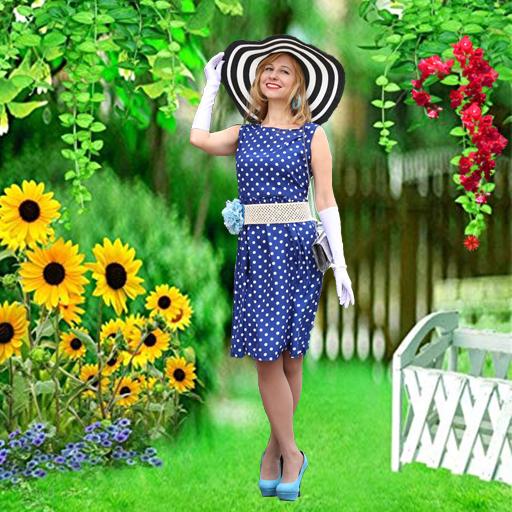 Baixar Garden Photo Frames : New Gardens photo editor para Android