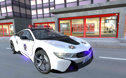 Real i8 Police Car Game: Car Games 2021 apkpoly screenshots 7