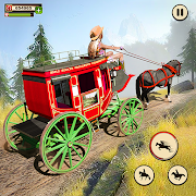 Horse Taxi City Transport: Horse Riding Games