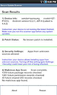 Secure Update Scanner 3