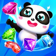 Panda Gems - Jewels Match 3 Games Puzzle
