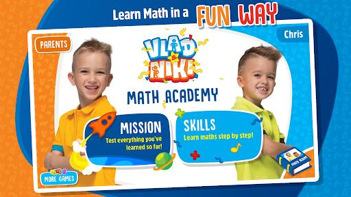Vlad and Niki - Math Academy 2.8 screenshots 1