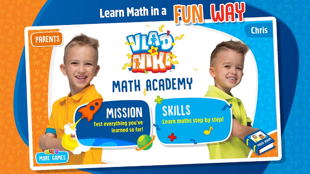 Vlad and Niki - Math Academy