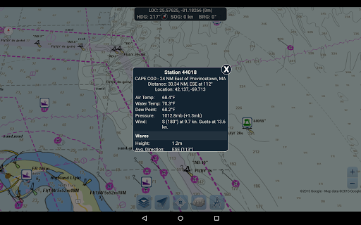 Marine Ways - Free Nautical Charts 1.24 Screenshots 14
