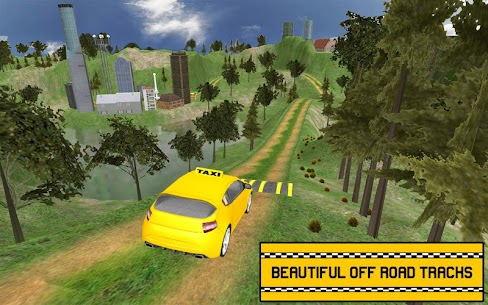 Hill Taxi Simulator Games: Free Car Games 2020 1