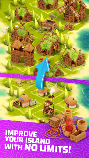 Idle Islands Empire: Idle Clicker Building Tycoon 0.9.5 screenshots 3