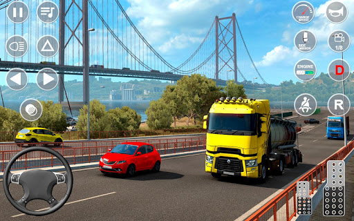 Euro Truck Transport Simulator 2: Cargo Truck Game android2mod screenshots 1