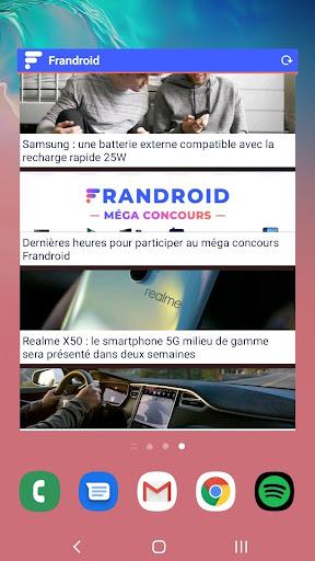 Frandroid  screenshots 3
