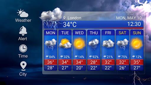 Free Weather Forecast App Widget 16.6.0.6304_50160 Screenshots 12