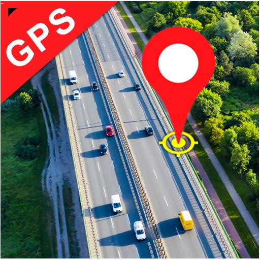 GPS navigácia, smer cesty a satelitné mapy