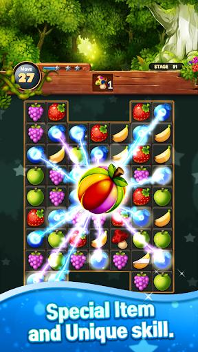 Sweet Fruits POP : Match 3 Puzzle screenshots 2