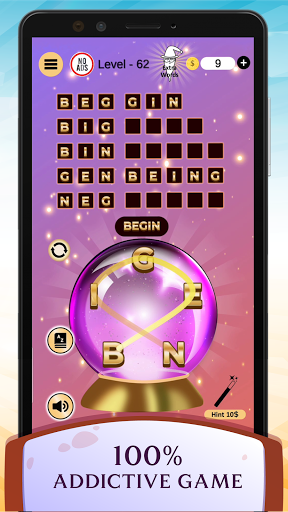 Word Wizard Puzzle - Connect Letters 4.1.7 screenshots 3