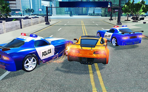 Police Chase vs Thief: Police Car Chase Game  screenshots 3