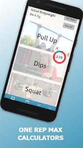 Calisthenics Workout Planner   Workout Log 3