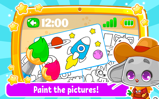 Babyphone & tablet - baby learning games, drawing 2.3.6 screenshots 2
