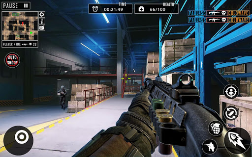 FPS Encounter : Real Commando Secret Mission 2020 modiapk screenshots 1