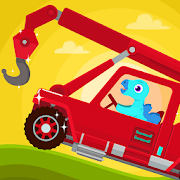 Dinosaur Rescue - Truck Games for kids & Toddlers