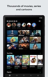 MEGOGO - TV, movies, cartoons and audiobooks 4.1.5 Screenshots 9