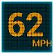 GPS LEDスピードメーター - Androidアプリ