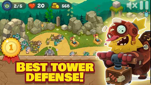 Tower Defense Realm King: Epic TD Strategy Element Apkfinish screenshots 3
