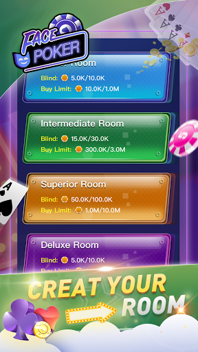 Face Poker - Live Texas Holdem Poker With Friends  screenshots 4