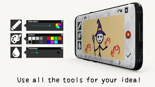 Stickman: draw animation, creator & maker, drawing  Screenshots 2
