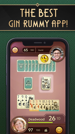 Grand Gin Rummy: The classic Gin Rummy Card Game 1.4.5 screenshots 1