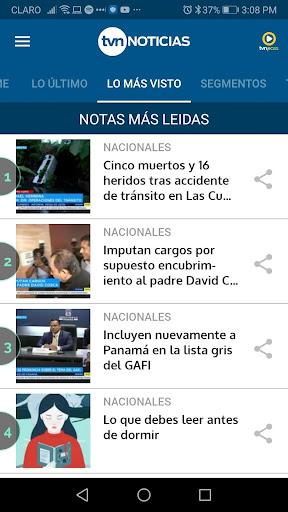 TVN Noticias 7.13.0 Screenshots 4