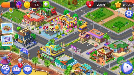 Match Town Makeover: Renovation Match 3 Puzzle apkdebit screenshots 16